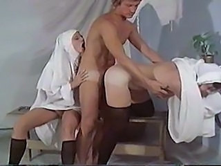 Doggystyle Hardcore Nun Threesome Uniform Vintage Doggy Ass Danish Threesome Hardcore