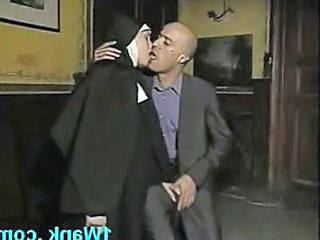 Kissing Nun Uniform Vintage Huge Huge Cock