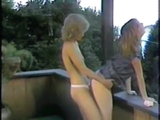 Lesbian Outdoor Vintage Young Outdoor