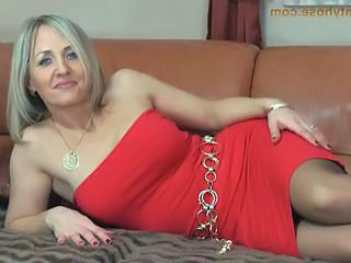 Amazing Blonde  Pantyhose Dress Pantyhose Milf Pantyhose