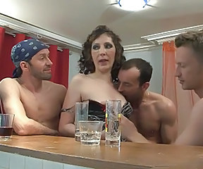 Drunk European French Groupsex  French Milf European French