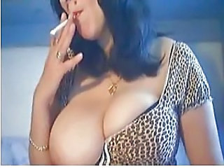 Big Tits Brunette Smoking Big Tits Brunette Big Tits