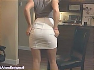 Ass Blonde Kitchen Skirt Wife Kitchen Housewife Wife Ass Blonde Housewife Housewife