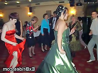 Bride Dancing Drunk Party Upskirt Drunk Party