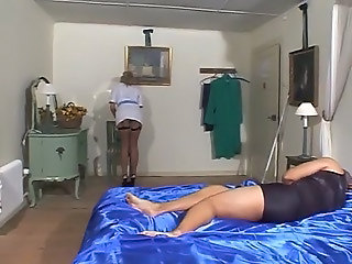 British European Maid  British Milf British Fuck Fishnet Milf British European British