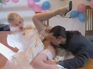 Babe Blonde Bride Clothed Cute Licking Stockings Cute Blonde Blonde Anal Wedding Dress Cute Anal Babe Anal Stockings