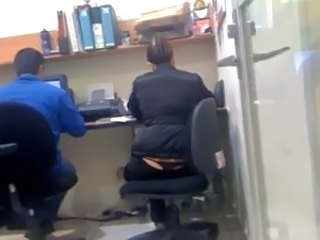 Office Voyeur Thong