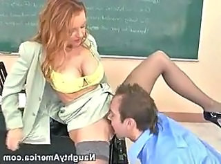 Amazing Clothed Licking  School Stockings Teacher Clothed Fuck Stockings Milf Stockings School Teacher Teacher Student