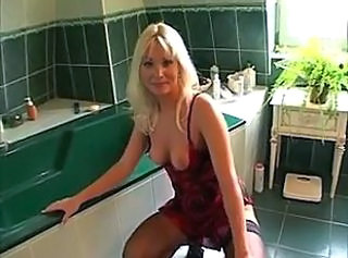 Anal Bathroom Blonde  Milf Anal Blonde Anal Bathroom