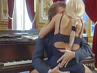 Blonde Clothed Hardcore Riding Clothed Fuck