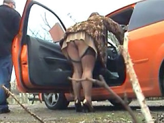 Car Stockings Upskirt Stockings Upskirt