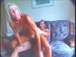 Blonde Mature Muscled Blonde Mature