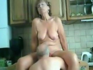 Kitchen Licking Older