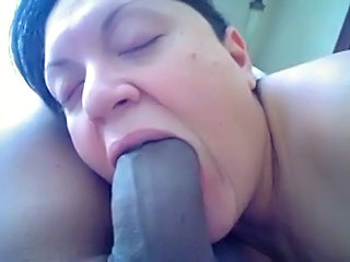 Deepthroat Interracial Mature Wife