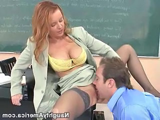 Clothed Licking  School Stockings Teacher Stockings Pussy Licking Milf Stockings School Teacher