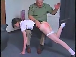 Old and Young Spanking Old And Young