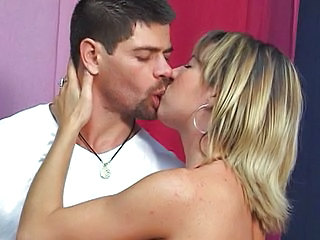 Blonde Kissing  Latina Milf Milf Ass