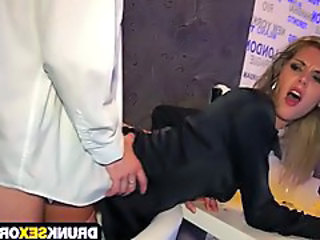 Babe Clothed Cute Doggystyle Drunk Clothed Fuck Hardcore Party Drunk Party
