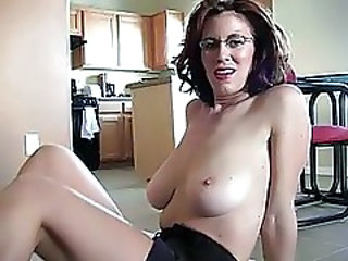 Glasses  Natural Glasses Busty Milf Ass