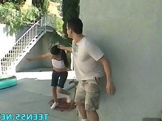 Forced Outdoor Teen Outdoor Outdoor Teen Teen Outdoor Forced
