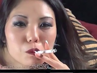 Asian  Smoking Milf Asian