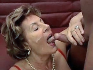 Cumshot Facial German Granny Grandma German Granny Granny German German
