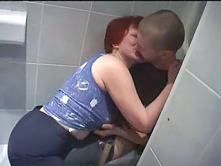 Kissing Mature Older Toilet