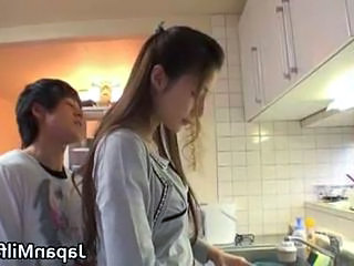 Asian Japanese Kitchen   Japanese Milf Milf Asian