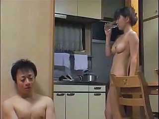 Asian Kitchen Threesome