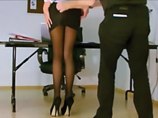 Legs Office Secretary Stockings Stockings