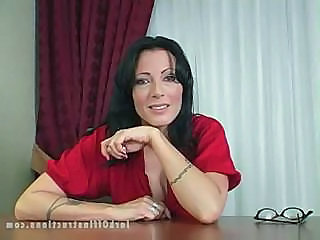 Brunette  Office Secretary Milf Office Boss Office Milf