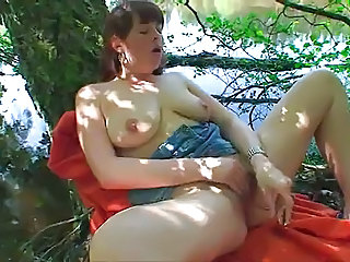 Chubby Masturbating Natural Outdoor  Solo Toy Outdoor Masturbating Outdoor Masturbating Toy Toy Masturbating