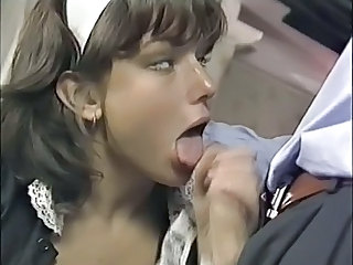 Blowjob Clothed Maid Teen Uniform Vintage Dress Maid + Teen