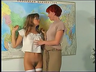 Hairy Russian School Stockings Teacher Stockings School Teacher