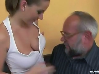 Daddy Daughter Old and Young Young Teen Busty Grandpa Old And Young Bus + Teen
