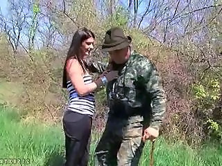 Army Old and Young Outdoor Teen Grandpa Old And Young Outdoor Outdoor Teen Teen Outdoor