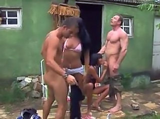 Blowjob Brazilian Groupsex Interracial Latina Outdoor Outdoor