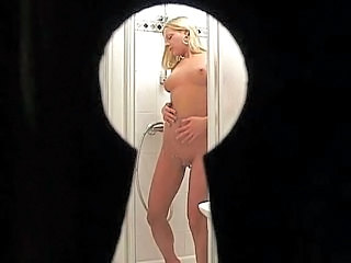 Bathroom German Teen Voyeur Outdoor German
