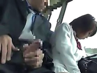 Asian Bus Handjob Japanese Handjob Asian Bus + Asian