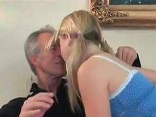 Kissing Old and Young Pigtail Teen Pigtail Grandpa Old And Young Kissing Teen Pigtail Teen
