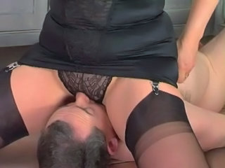 Facesitting Femdom Panty Stockings Stockings