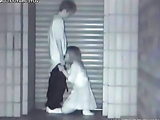 HiddenCam Voyeur Outdoor Handjob Asian