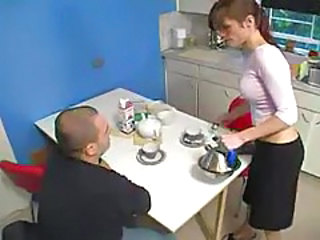 Kitchen Mature Russian Kitchen Mature Russian Mature