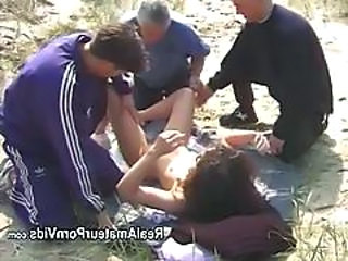 Beach Gangbang  Outdoor Small Tits Beach Tits Beach Sex Outdoor