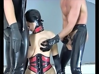 Bdsm Blowjob European German Latex Threesome Bdsm German Blowjob European German