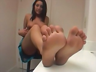 Brunette Feet Fetish Foot