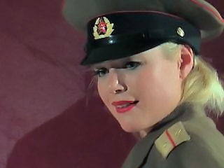 Anal Army Babe Blonde Uniform Blonde Anal Babe Anal