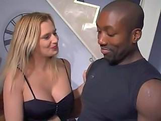 Interracial  French Milf European French