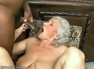 Blowjob Granny Interracial Grandma