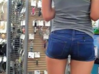 Ass Jeans Public Outdoor Tight Jeans Jeans Ass